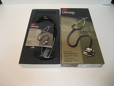 Littman Classic Ii S.e. Stethoscope New In Box Navy Blue 28 2205 See Pictures