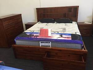QUEEN LIBRARY 4 PCS SUIT-FLOOR STOCK Perth Perth City Area Preview