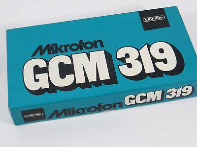 Grundig GCM 319 Vintage Mikrofon microphone