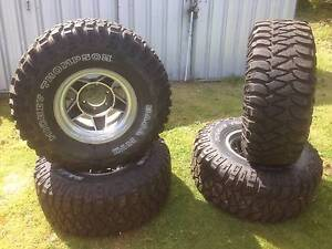 4x4 rims and tyres. Huonville Huon Valley Preview