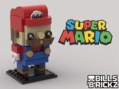 **SALE** Lego MOC Brickheadz -Super Mario - Custom PDF Instructions Only
