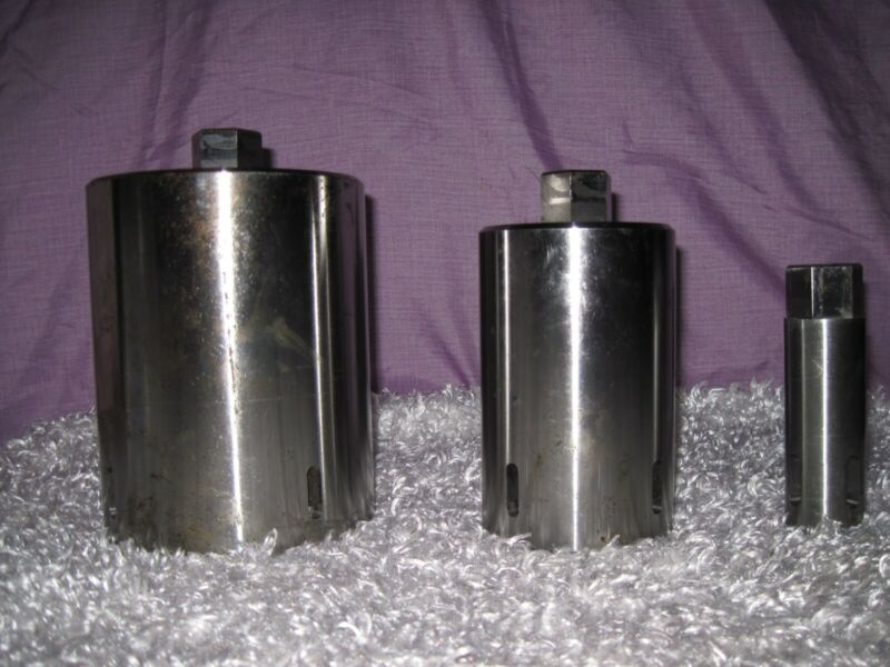 3 Industrial Metal Heavy Duty Parts ~ Extractor of bearings, bushings, shafts ??