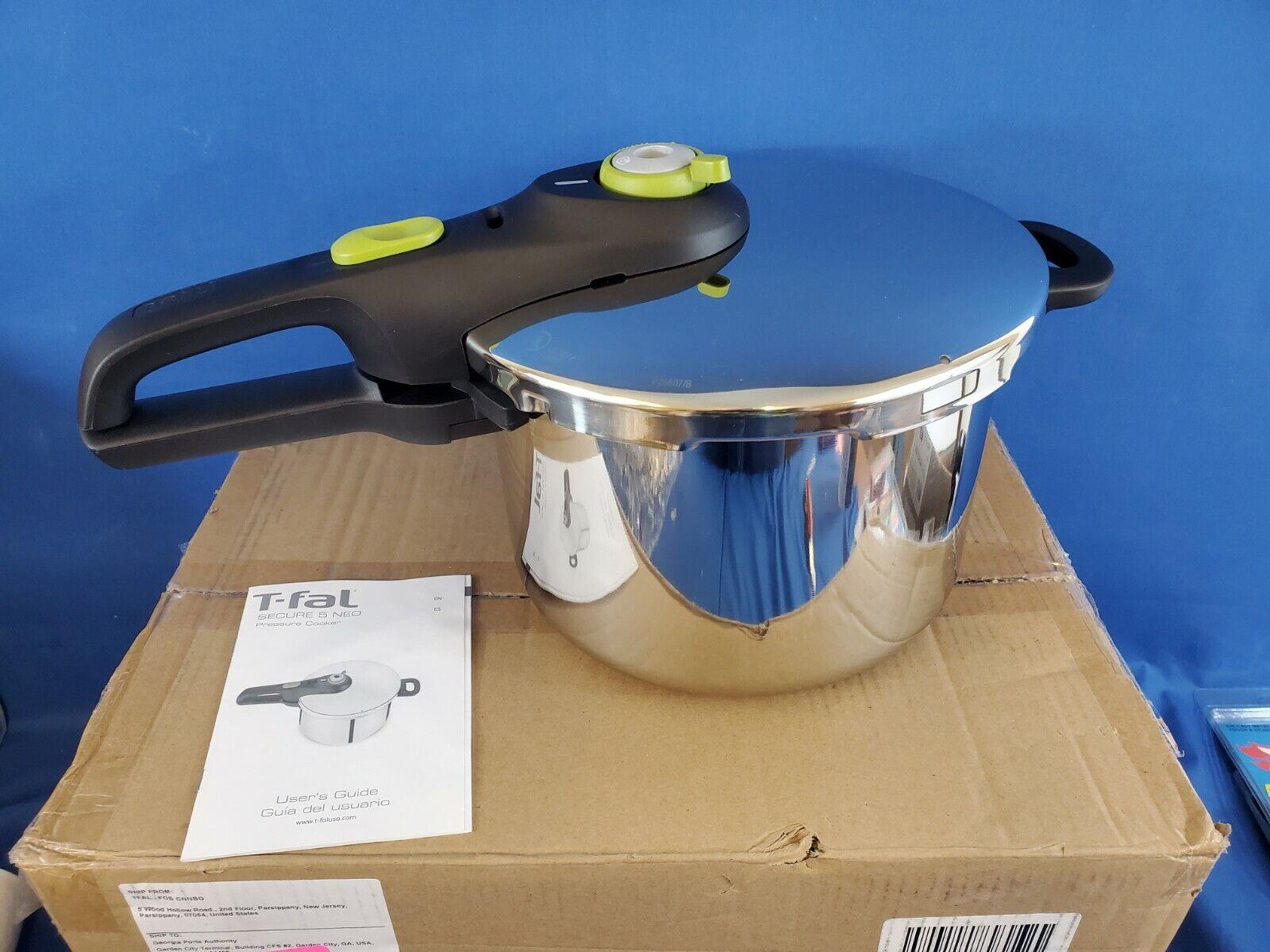 T-fal P25107 Stainless Steel Dishwasher Safe PFOA Free Press
