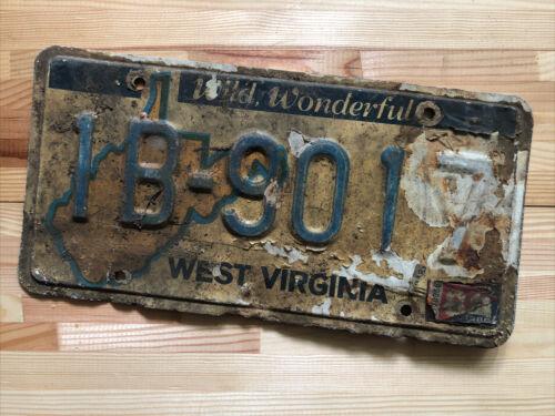 Nummernschild USA West Virginia Original