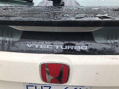 GENUINE OEM HONDA 2017-2018 Civic Type R FK8 Vtec Turbo sticker decal CDM