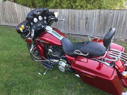 May trade Harley Davidson Street Glide