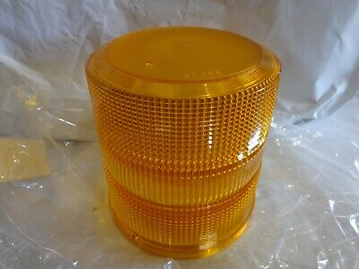 Whelen Dh2000a High Dome Amber Lens For 2000-2500-l10-l21-l22 Series Beacons