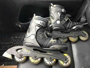 Boys K2 Rollerblades. Adjustable size 1-5
