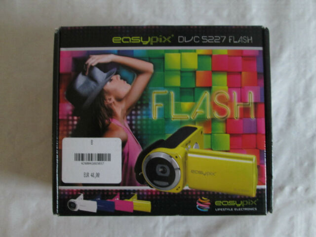 Easypix DVC5227 Flash Camcorder Gelb