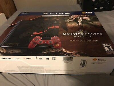 Monster Hunter Rathalos Edition Ps4 Pro