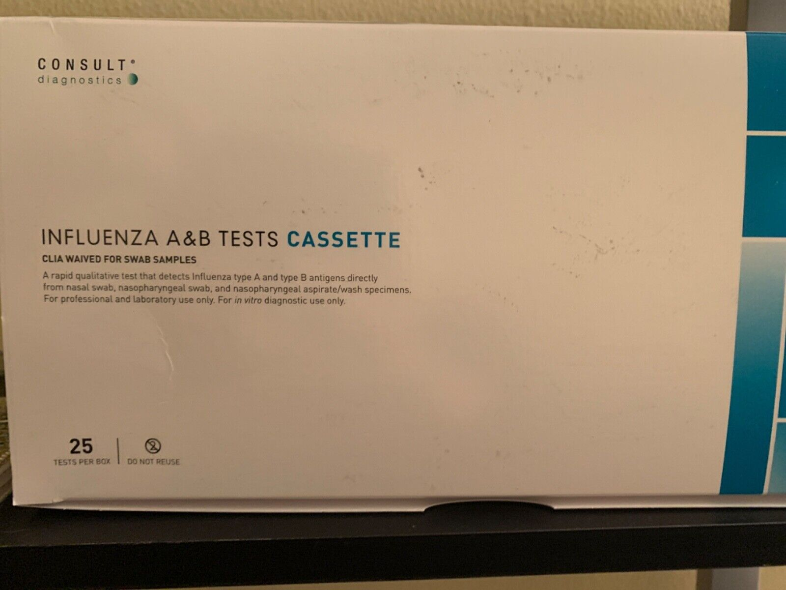 rapid diagnostic test kit immunoassay influenza a