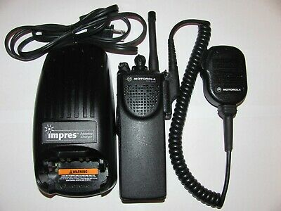 Motorola Xts3000 Model I Uhf 403-470mhz P25 Digital Radio H09rdc9pw5bn