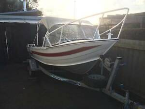 4.6m VANDIEMEN BOAT W/Yamaha 40HP 4 Stroke, Trailer, FishFinder Somerset Waratah Area Preview