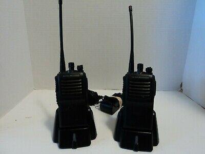 Lot Of 2 Vertex Standard Walkie Talkie With Chargers Fast Free Ship