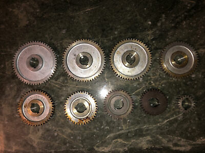 Atlas M6 101 Craftsman 101 6 Lathe M6 Threading Change Gear 9pc Set