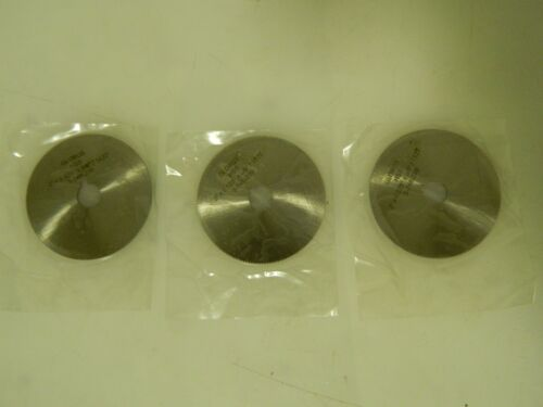 "Globus Jewellers Slotting Saw 3 Pack 2"" Diam .025"" Thick 152 Teeth HSS 03293750"