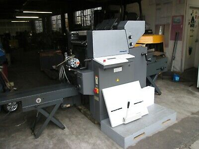 Heidelberg Print Master Qm 46 Cd 2 Color Come With Envelope Feeder And Conveyor