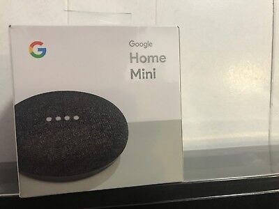 Google Home Mini Smart Speaker- Charcoal [NEW] Google Mini