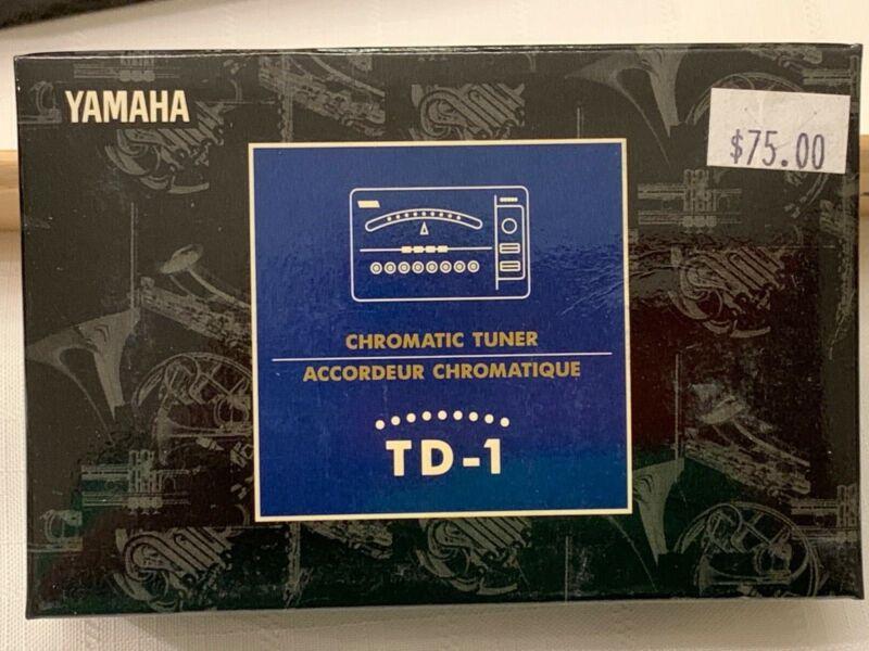 Yamaha TD-1 Chromatic Tuner New item (old stock) matte black