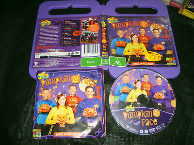 Halloween The Movie Songs (THE WIGGLES: PUMPKIN FACE (Halloween Songs) - 2013 ABC For Kids Issue DVD Reg)