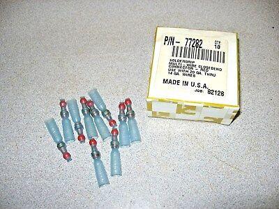 Box Of 10 Soldergrip Multi-wire Closedend Connectors Red Use W20-14 Ga Wire