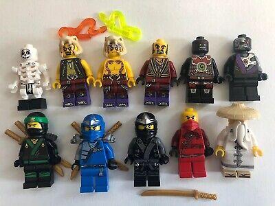 LEGO Lot Of Ninjago Minifigures 11 Figures