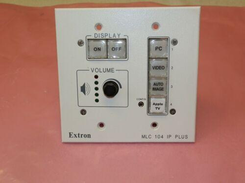 Extron MLC 104 IP MediaLink Media Link Controller - White -