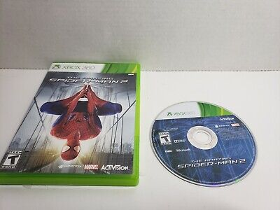 The Amazing Spider-Man 2 (Microsoft Xbox 360, 2014) No Manual free shipping! A8