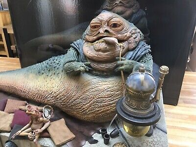 Star Wars Jabba The Hutt Sideshow  1/6 Scale not Hot Toys deluxe *MINT*