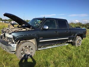 parting out 2002 chevy duramax crew cab shortbox
