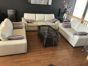 Couch or two loveseats. In excellent condition.