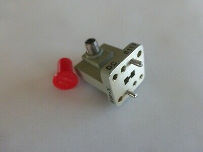 Wrd-180 Double Ridge Waveguide To 2.92mm Coax Adapter 18-40 Ghz