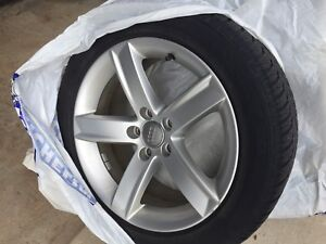 Winter tire and rims for Audi