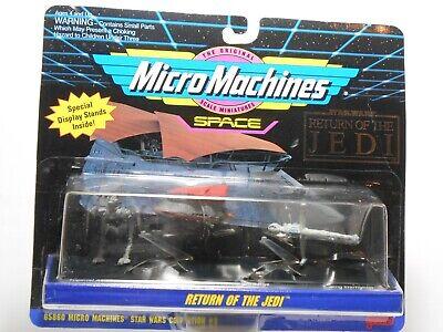 Vintage Micro Machines Space Star Wars Return Of The Jedi- Galoob. Read Desc.