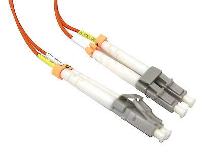 Fiber Patch Cord 15 Meter LC/LC Duplex Multimode OM2 50/125 Fiber Cable - 2085