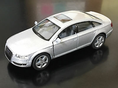 "New 5"" Kinsmart Audi A6 Diecast Model Toy Car 1:38 Scale Pul"