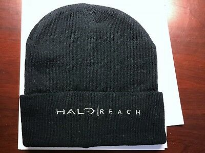 HALO REACH PROMOTIONAL KNIT SKI HAT-COLLECTORS BEANIE **NEW**