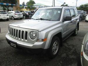 2013 Jeep Patriot 4X4 - 5 Speed! ONLY 110,000 klm's.!