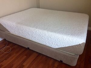 Queen Size Mattress with Box Spring & Frame