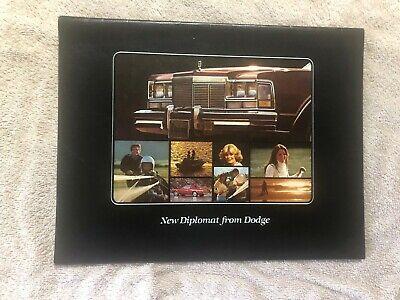 Original 1977 Dodge Diplomat Sales Brochure Duke Tufty Co  Sioux Falls SD Diplomat Diplomat Fall