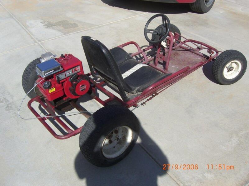 Vintage Go Kart Frame 59