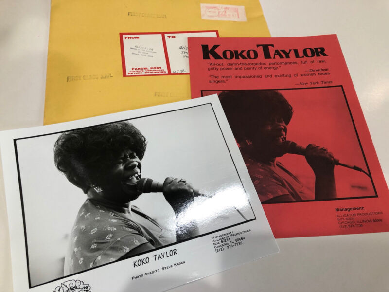 KoKo Taylor Queen Of The Blues Photo 8 x 10 1980