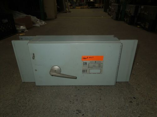Ge Type Qmr Dd3s4364a 200a Single 3p 600v Fused Panelboard Switch W/ Hardware