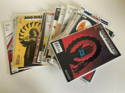 DC Vertigo - 100 Bullets Comics Bundle 20x - Good Cond. - Bagged & Boarded