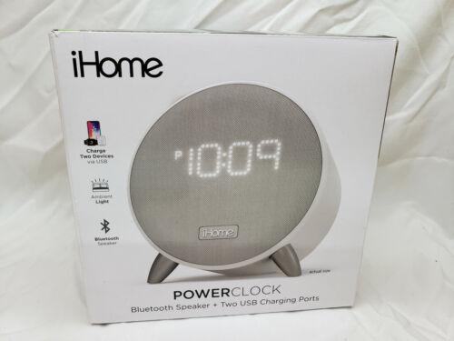 IHome iBT235 PowerClock Bluetooth Alarm Clock Review NEW