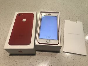 iPhone 7 - 128gb - limited edition red