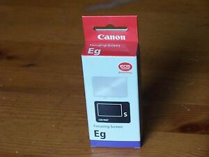 New-Genuine-Canon-Eg-S-Focusing-Screen-EgS-for-Digital-Camera-EOS-5D-Warranty