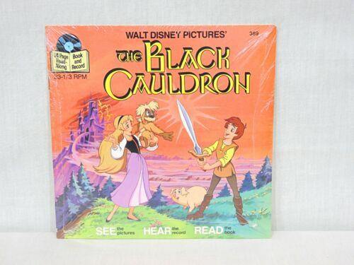 NEW SEALED The Black Cauldron Disneyland Book Record SEE HEAR READ Set Disney