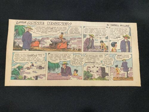 #14 LITTLE ANNIE ROONEY by Darrell McClure Sunday Third Page Strip May 9, 1965