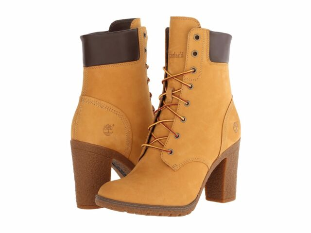 timberland ladies boots with heels